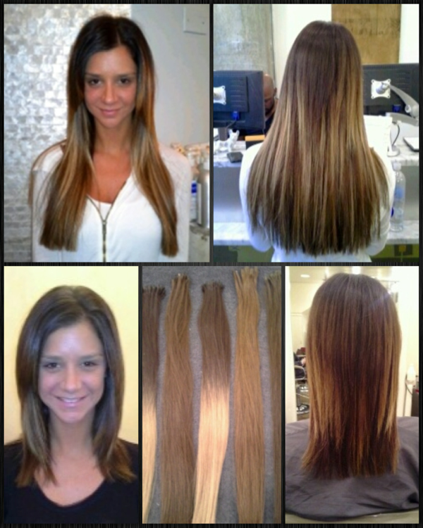 Cold Fusion Great Lengths Hair Extensions New Ombr Hair Looks