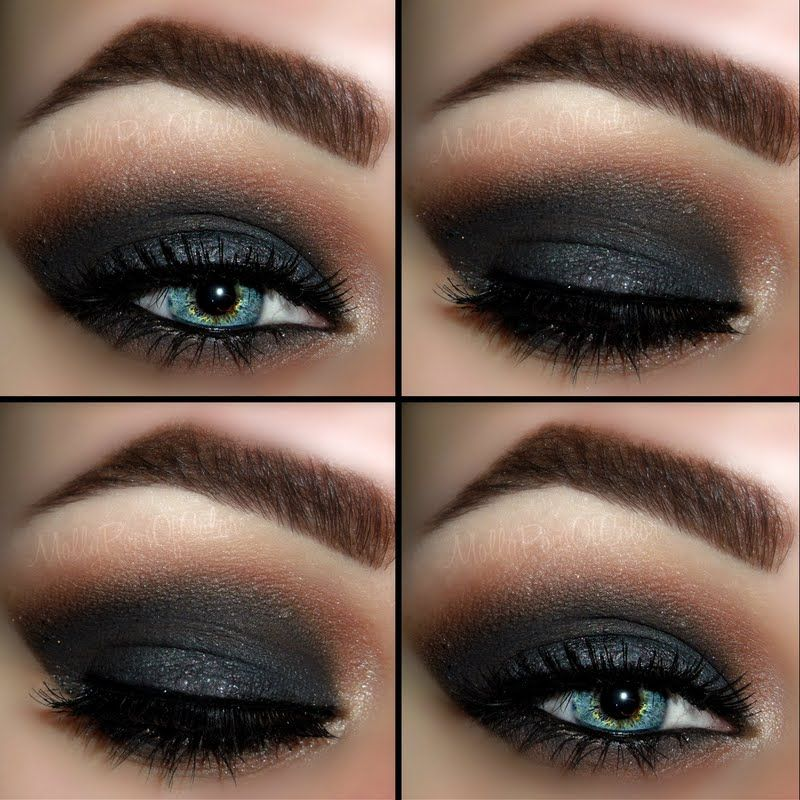 Dark & Dramatic Smokey Eye by Molly A. Click the pic to see the how