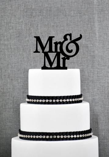 Pin On Gay Lesbian Wedding Cake Toppers And Essentials
