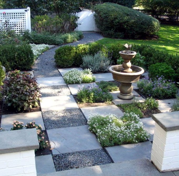 25 Most Beautiful DIY Garden Path Ideas | Front yard ... on Patio And Gravel Garden Ideas id=92173