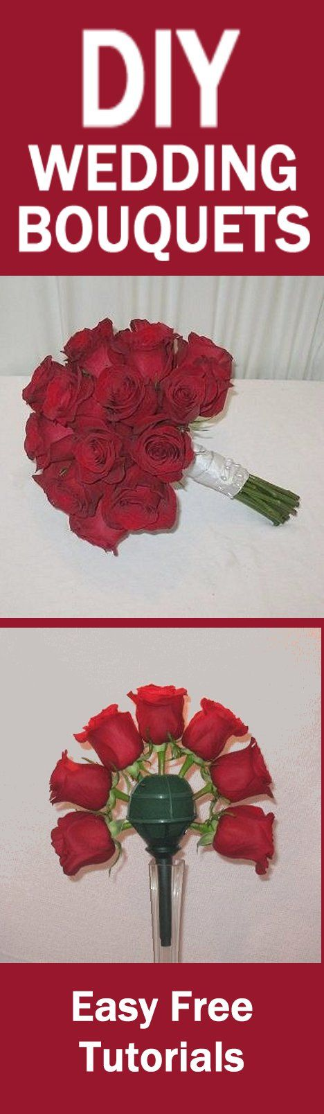 How To Make Bridal Bouquets Easy Wedding Flower Tutorials Learn Corsages Boutonnieres Reception Centerpieces And Church