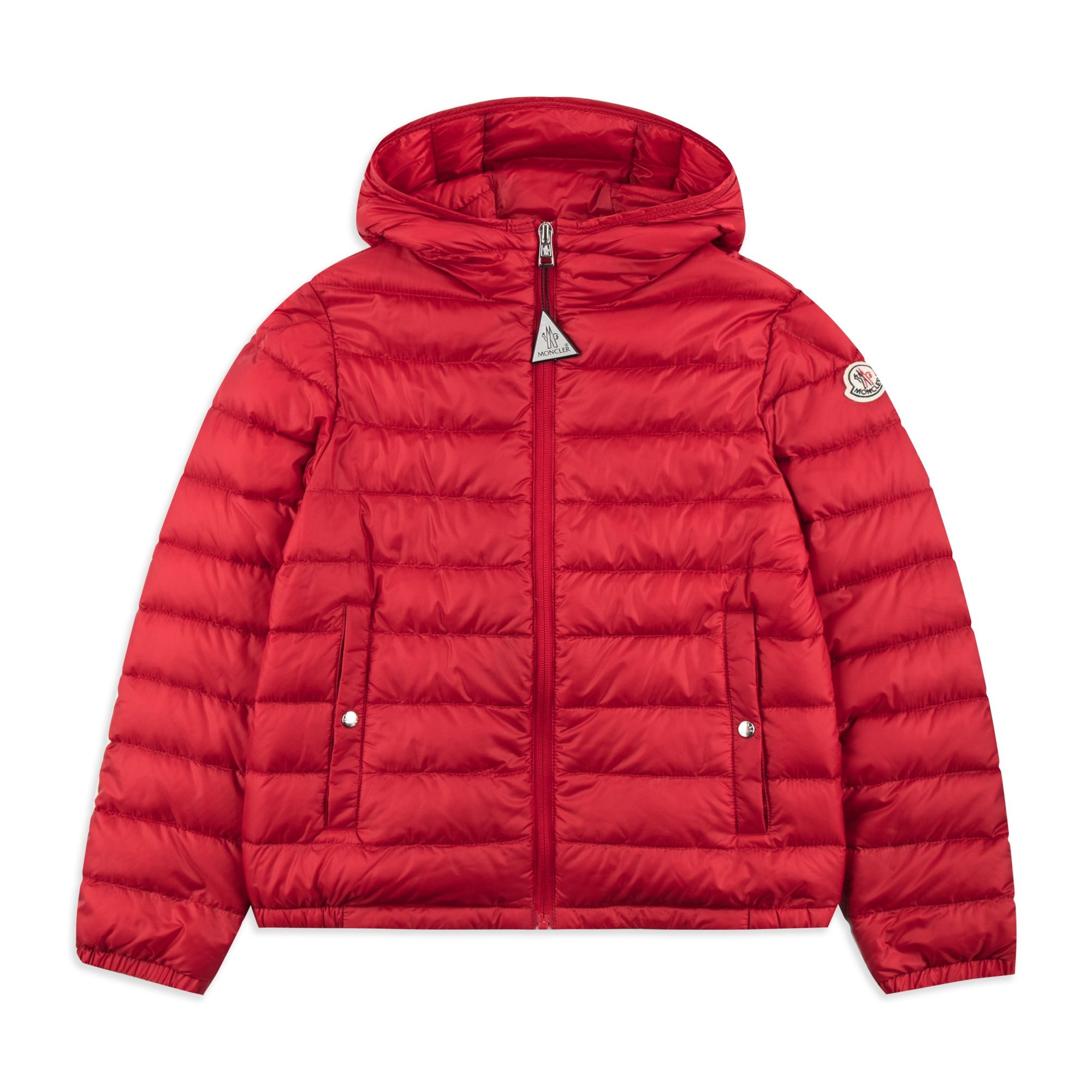 342560160 Boys  Morvan  Down Jacket - Red by Moncler