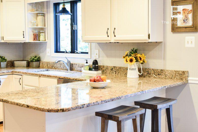 How I Painted My Kitchen Backsplash Kitchen backsplash, Kitchens