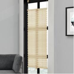 Plissee - weiß - glatter Stoff - 90x130 cm RollerRoller #textiles