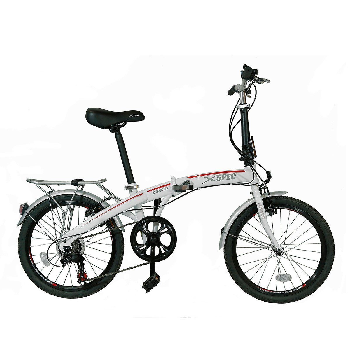 Xspec 20 7 Speed City Folding Compact Bike Bicycle Urban Commuter