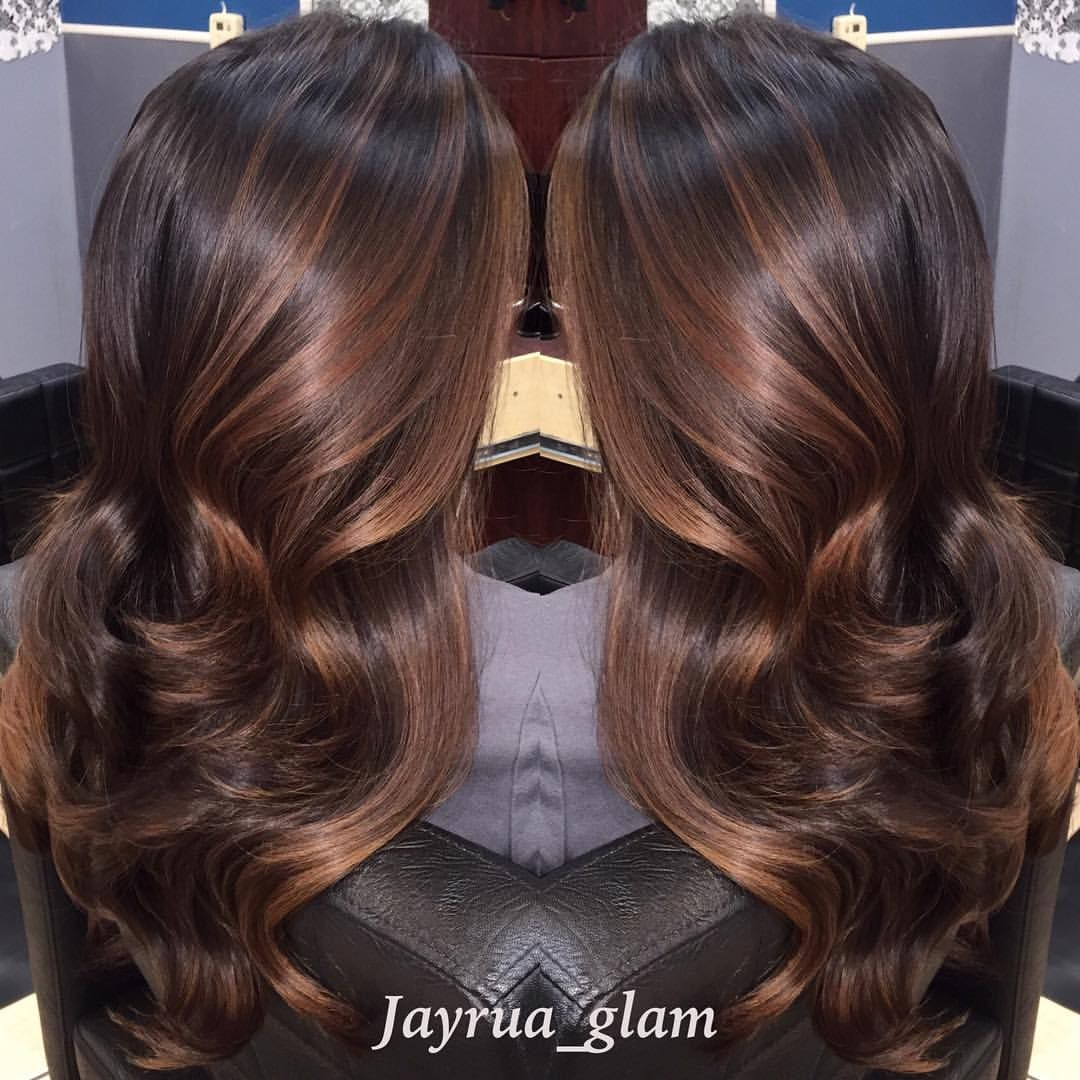 Fall Hair Colors Chestnut Partial Ombre Balayage Thank