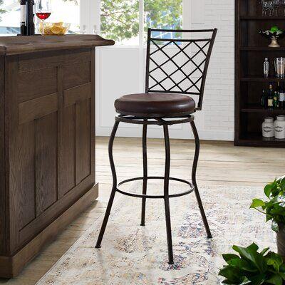 Marvelous Fleur De Lis Living Granjeno 30 Swivel Bar Stool In 2019 Machost Co Dining Chair Design Ideas Machostcouk