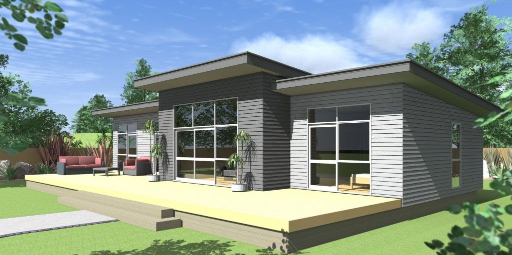 Image result for mono pitch weatherboard house tiny - Modern weatherboard home designs ...