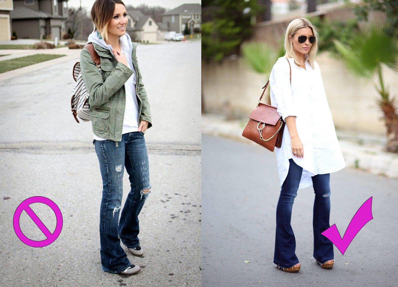 4 Tipos de zapatos que NO debes usar con jeans | Jeans y ...