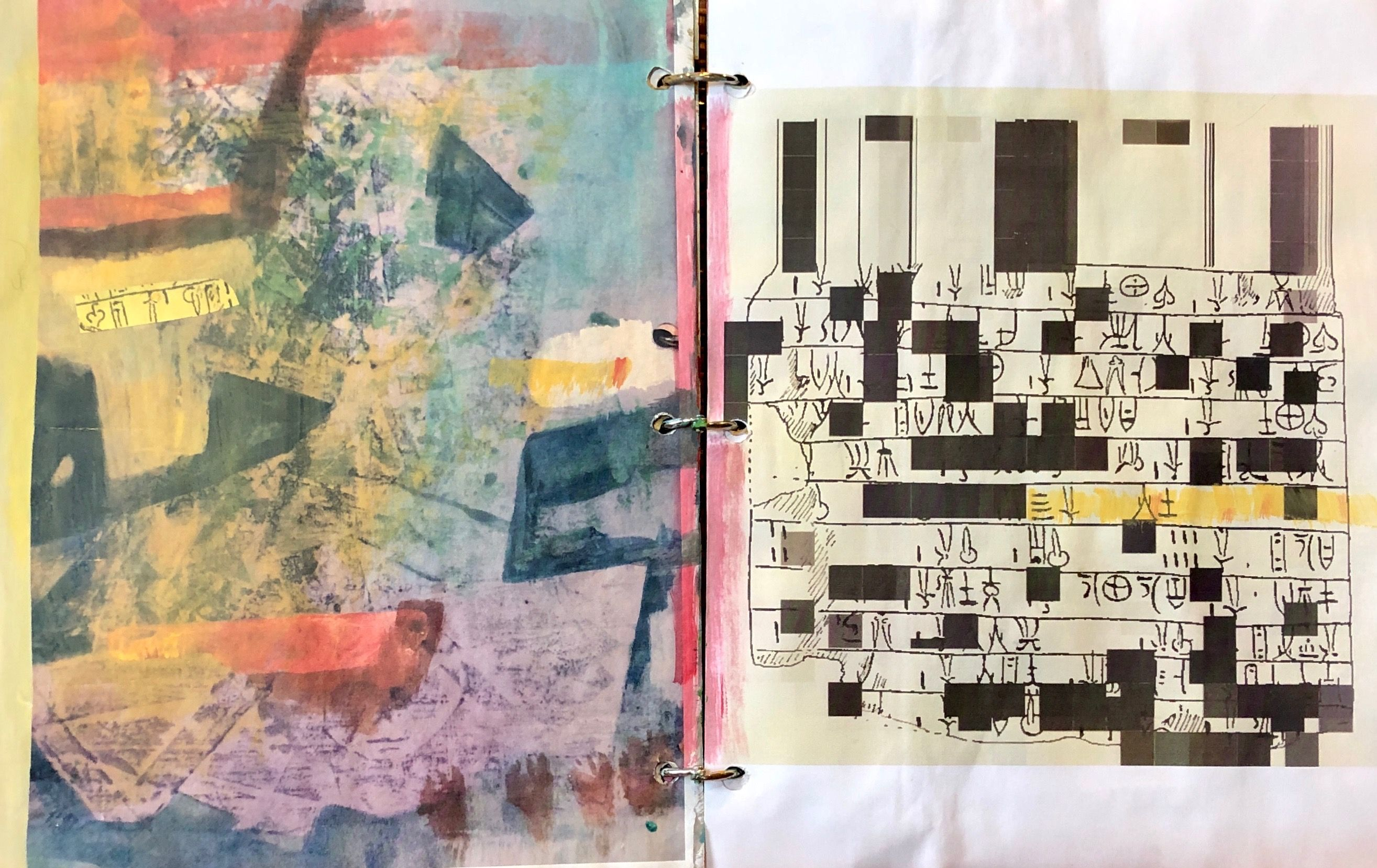 Lorrie Mcclanahan Sketch Book Crossword Puzzle Art