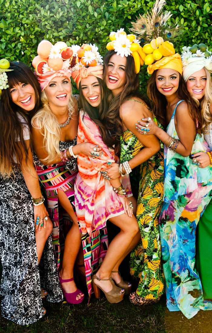 Party At The Pool With The Mumu Fruitheads Tropical Party