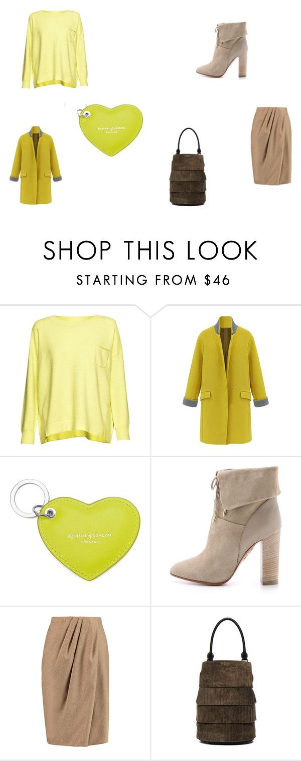 """""""ь"""" by anfisa-28 on Polyvore featuring мода, French Connection, Aspinal of London, Aquazzura, Vionnet и Burberry"""