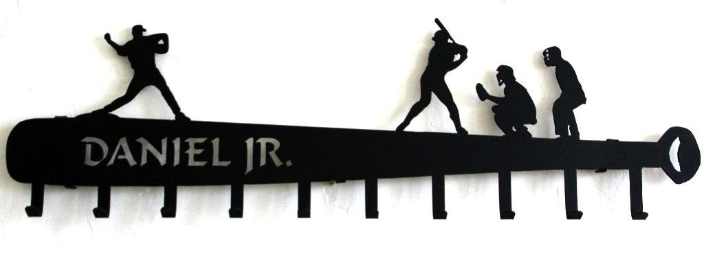 Baseball Hat Holder Personalized Rack BaseBall