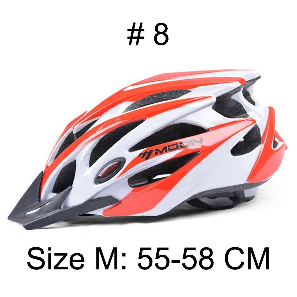 MOON Upgrade Cycling Helmet Ultralight Insect Net CE Certification Bicycle Helmet MTB Road Mountain Bike Helmet