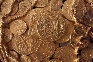 A 300-year-old 'royal' coin worth $500,000 was among the treasures discovered last month off the coast of Florida.  #History