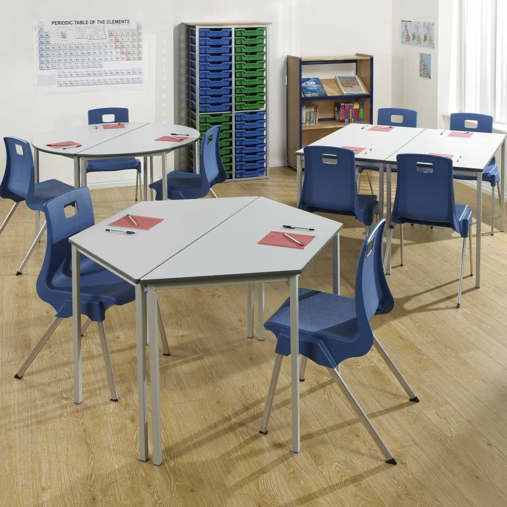 Fully Welded Student Tables Educational School Classroom
