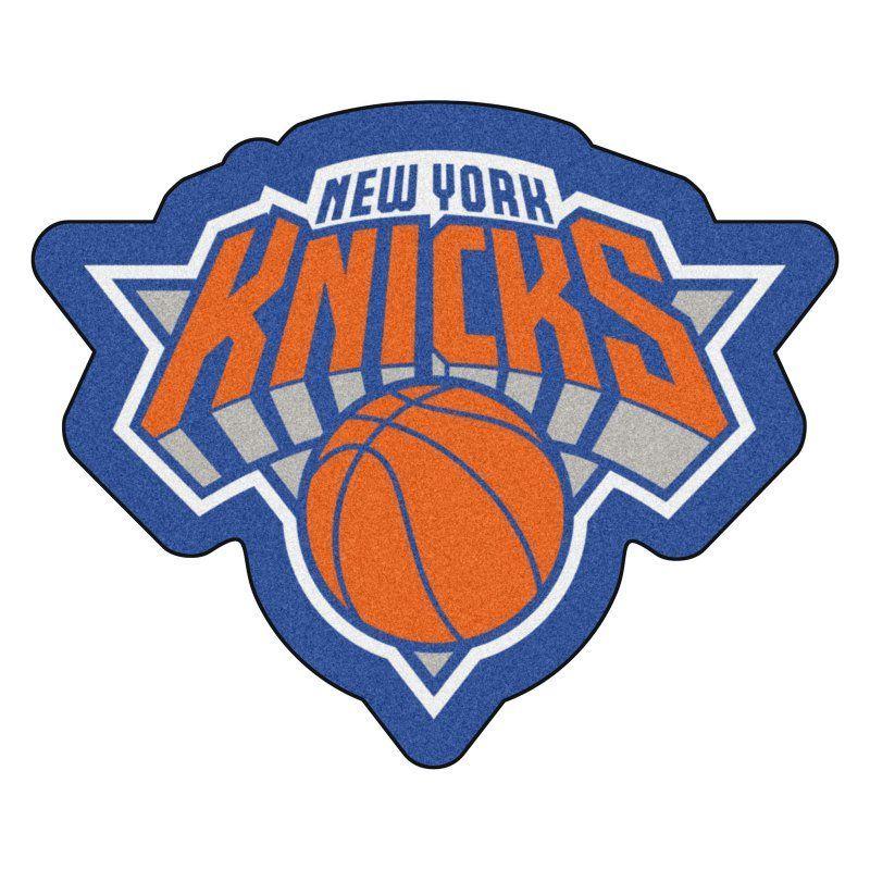Nba Basketball New York Knicks: Fan Mats NBA Basketball Mascot Area Rug