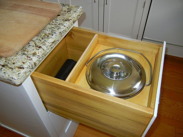 Even A Built In Compost Bin Drawer