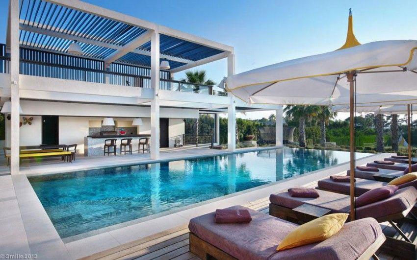 luxury modern villa on cap dantibes - Maison Moderne Antibes