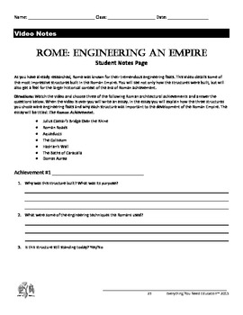 ancient rome lesson engineering an empire ancient rome social studies and school. Black Bedroom Furniture Sets. Home Design Ideas
