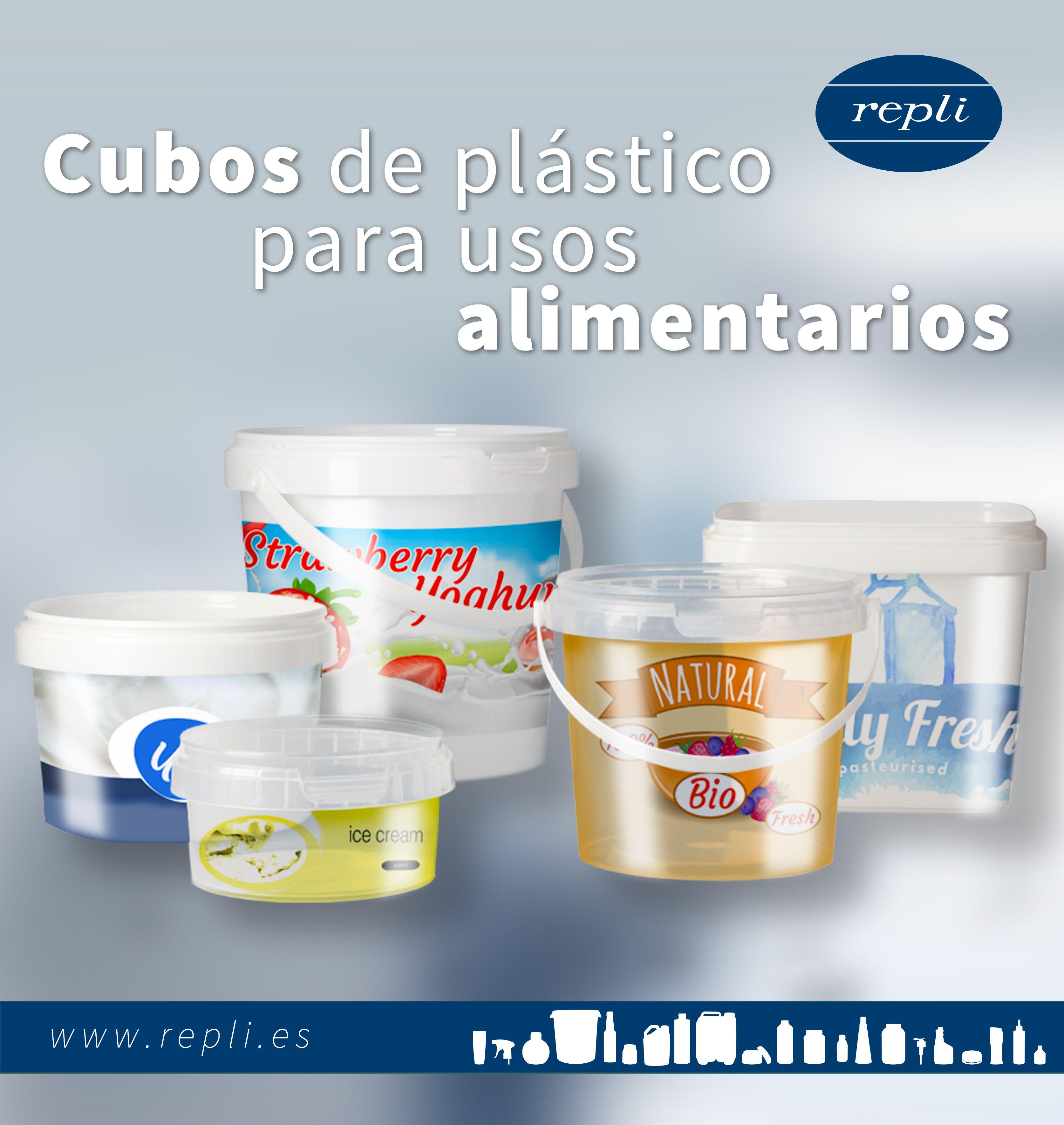 Una Amplia Gama De Cubos Para Uso Alimentario Cubos De Plastico