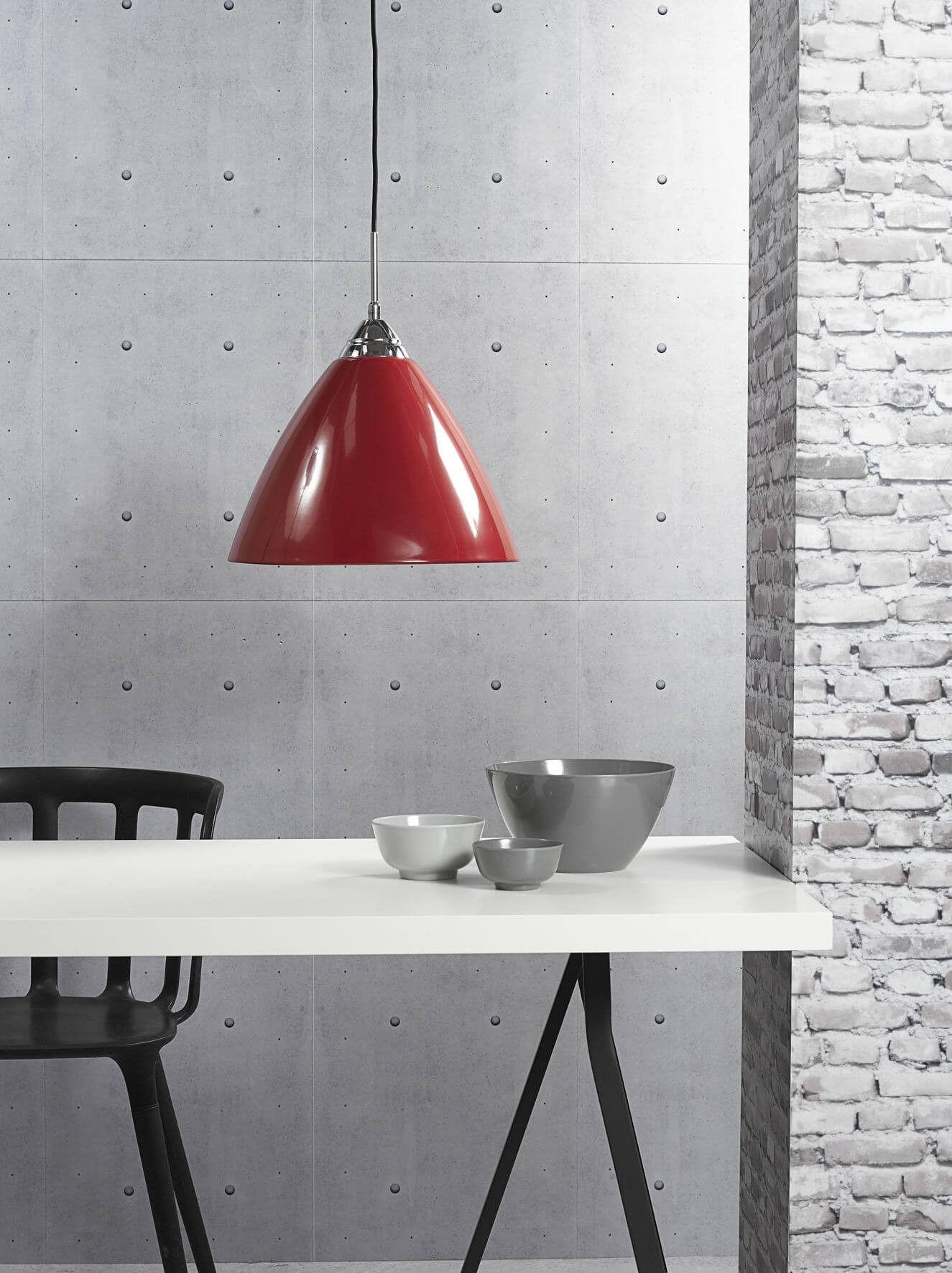 Pendellampe Read Rot Skandinavisch Modern Küche Esszimmer