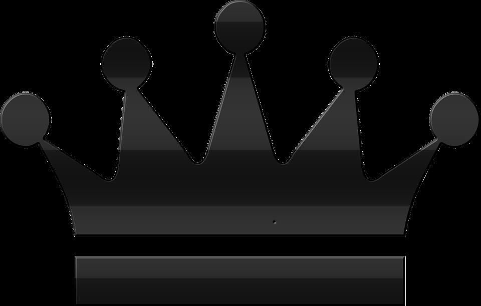King Crown Png Vector Hd Png Download Crown Png Crown Silhouette Kings Crown