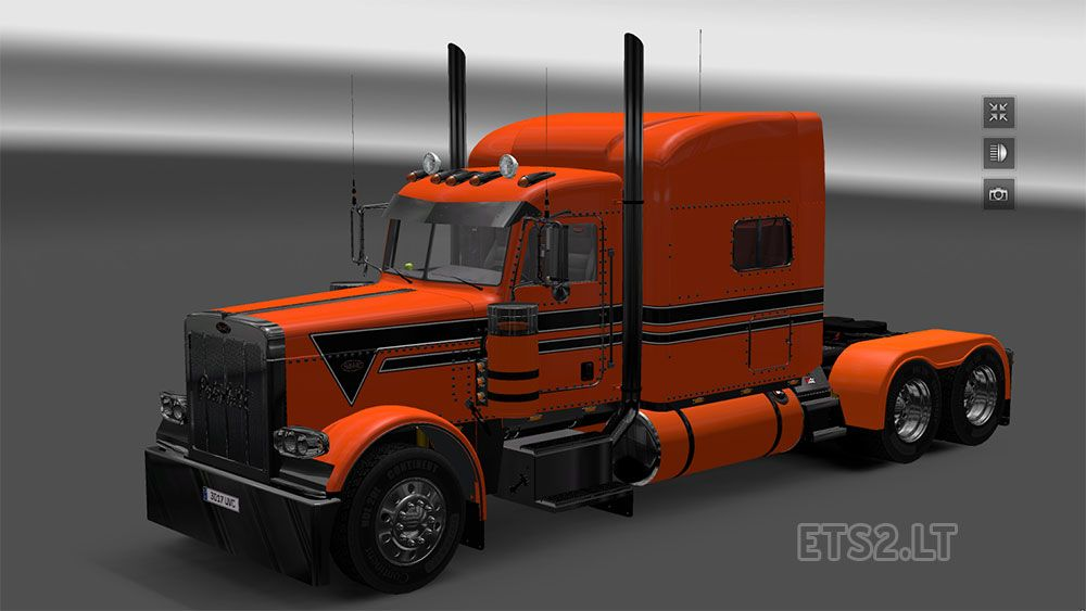 Orange Black Trim Peterbilt Paint Colors No Matter 379 Or 389 American Truck Simulator Peterbilt Peterbilt 389