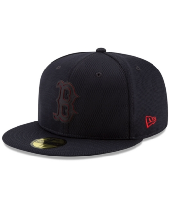 New Era Boys Boston Red Sox Clubhouse 59fifty Fitted Cap New