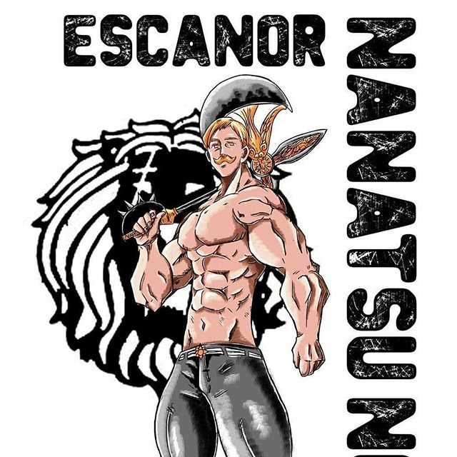 "Jonatan on Instagram: ""Escanor the sin of pride  #nanatsunotaizai #escanor #sin #pride #anime #manga #lion #leão #pecado #orgulho #monstro #trapezio #banban #arte…"""