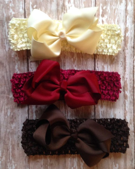 Perfect for the holidays!    These beautiful headbands are perfect for fragile Childrens heads. Very soft & comfortable. Large detachable
