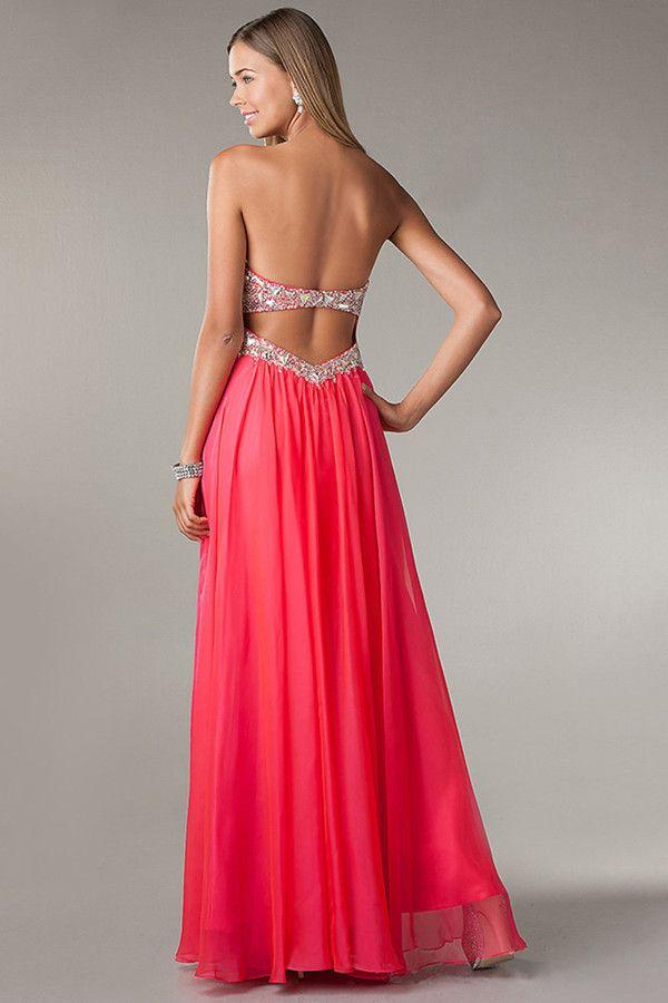 Cheap long backless dresses uk online
