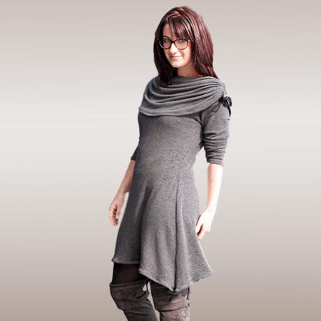 Jolie Shirt Kleid Ebook Größe 32  52 [Digital]  Schnittmuster große größen, Schnittmuster