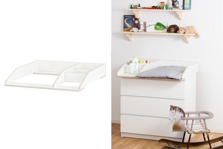 Babyzimmer ikea malm  Växla fk | Malm kommode, Wickelaufsatz und Malm
