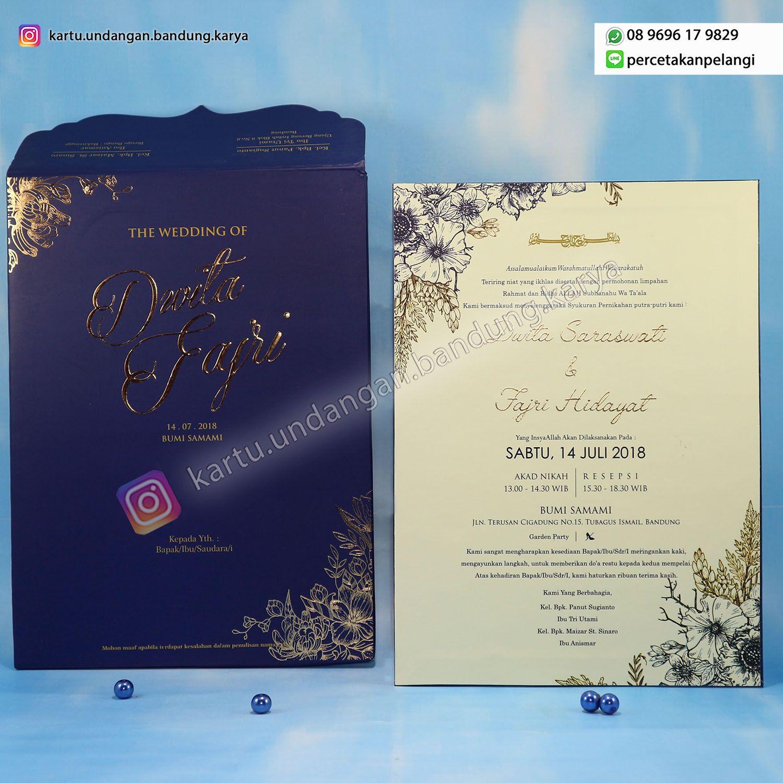 Single Hard Cover Bahan Amplop Kertas Art Paper Laminasi Doff Bahan Isi Kertas Art Paper Laminasi Doff Ukuran 16 5 X Undangan Pernikahan Pernikahan Resepsi