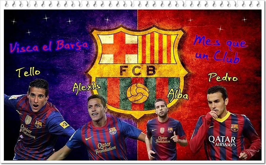 4 jugadores del Barcelona