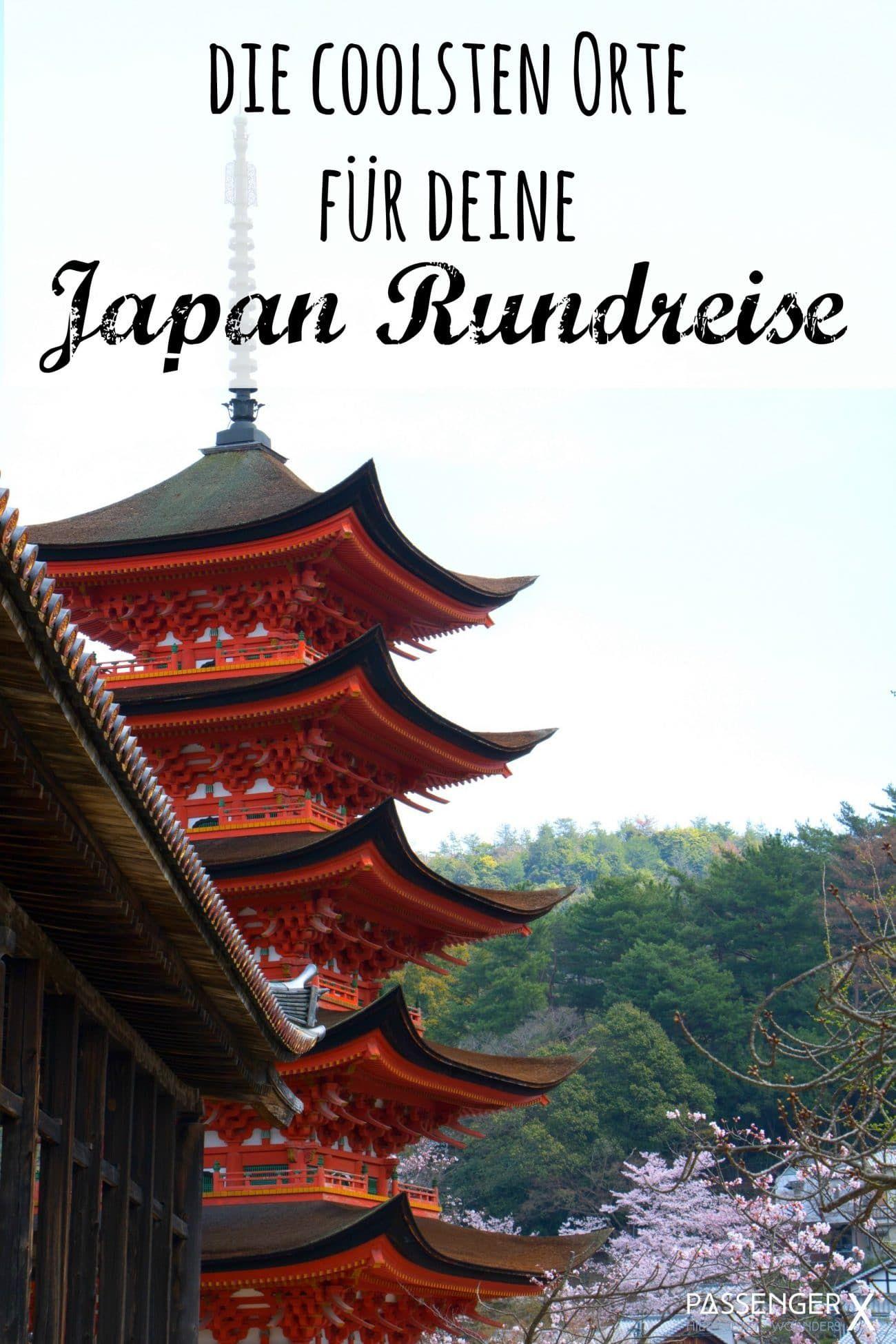Tipps für deine Japan Rundreise: Route, Unterkünfte, Tops und Flops #aroundtheworldtrips