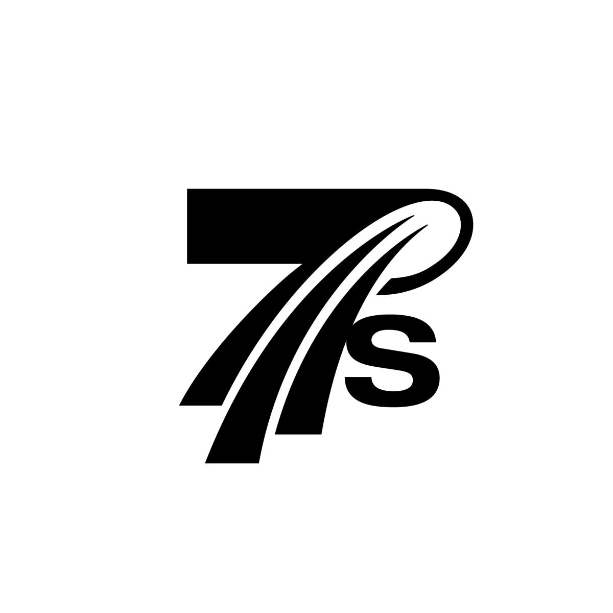 Dubai Rugby 7s Logo United Arab Emirates Logo Number 7 Logo Number 7