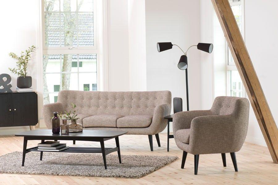 Strålende Yes, please :) Retro 3-seter - Skeidar | Interiør | Retro sofa VQ-16