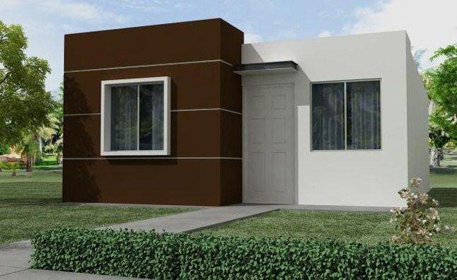Fachadas De Casas Sencillas De Un Piso Plano1 En 2019 Fachadas