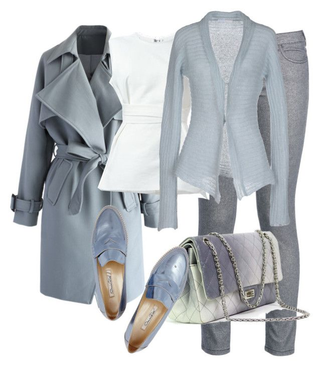 """""""Just another work day"""" by danielle-broekhuizen ❤ liked on Polyvore featuring Chicwish, George J. Love, Isabel Marant, Chiara Bertani, Chanel and Oscar de la Renta"""