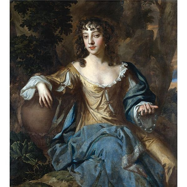 Willem Wissing 1656-1687 , Portrait of a lady, said to be Nell Gwyn oil on canvas