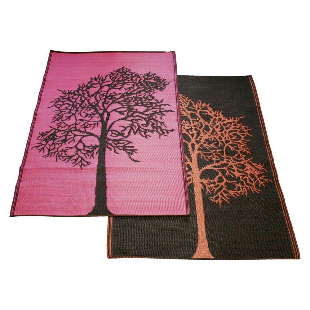 tree of life reversible rug from koko company  x   house  - tree of life reversible rug from koko company
