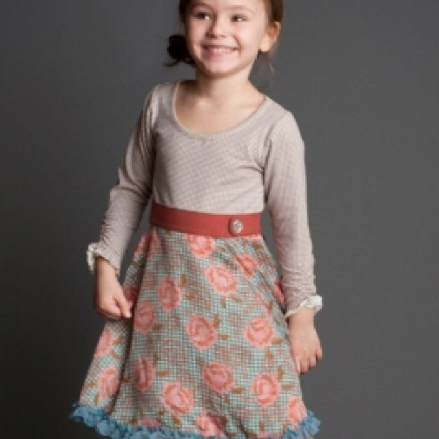 Love this kids dress - wish I could get the picture so it wasn't cut off!