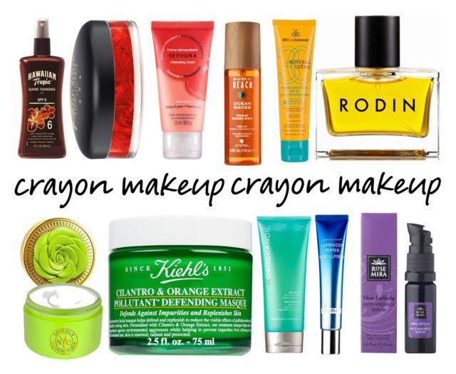 """rainbow makeup"" by veronikachristensen ❤ liked on Polyvore featuring beauty, MDSolarSciences, Kiehl's, Rodin, Sephora Collection, Alterna, Bond No. 9, Rosemira and MAC Cosmetics"