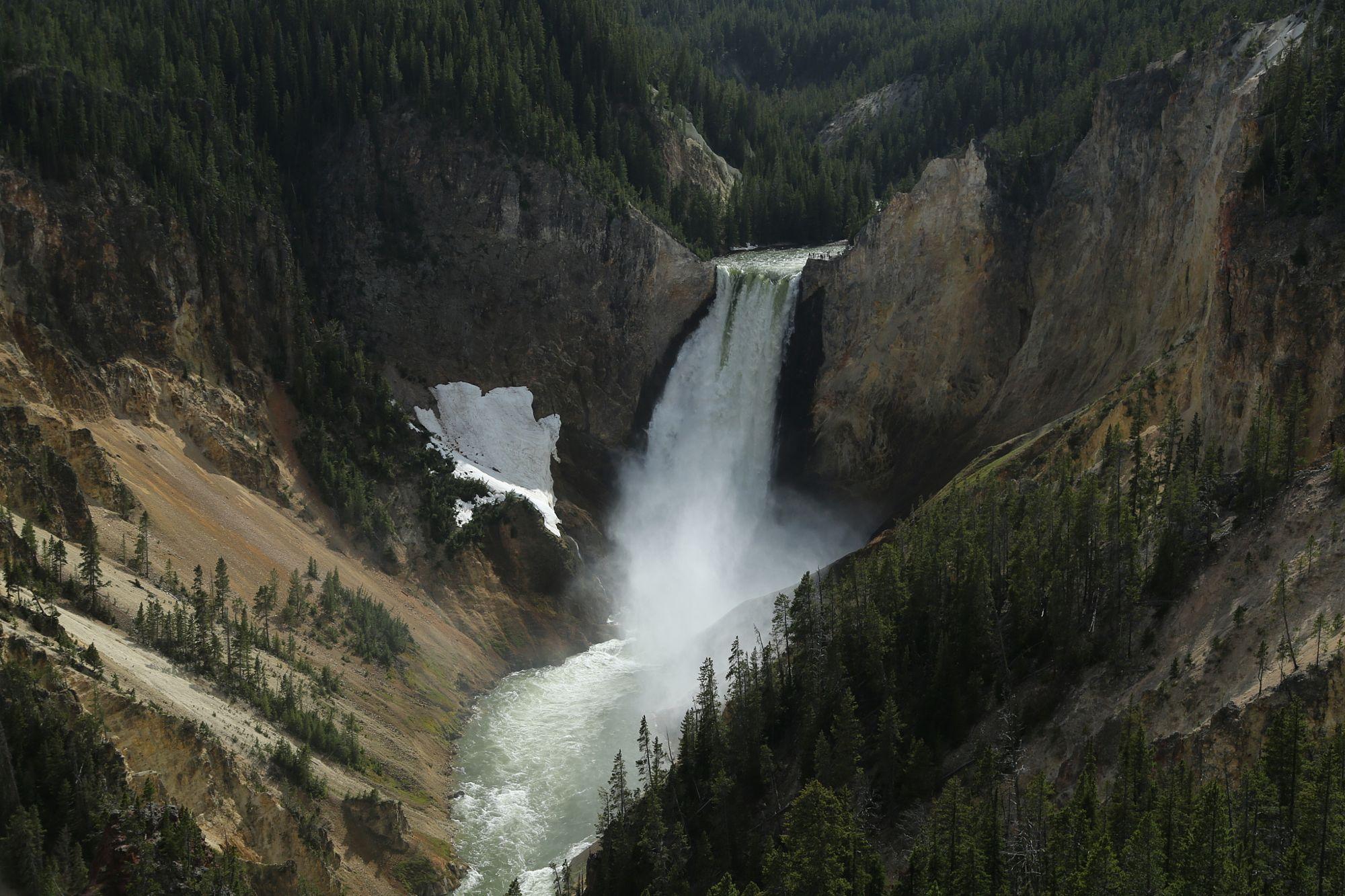 Yellowstone Falls by Jennifer Lee on 500px