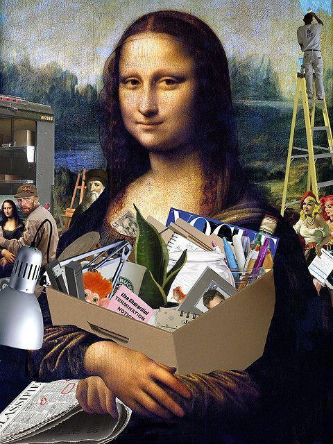 Temp Mona Lisa Parody Mona Lisa Mona Lisa Smile