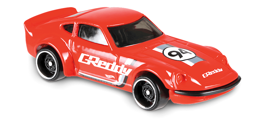 Nissan Fairlady Z In Red Hw Speed Graphics Car Collector Hot Wheels Hot Wheels Red Car Nissan