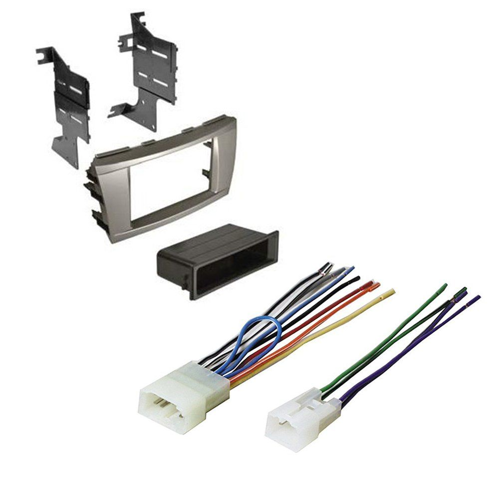 Toyota Camry 2007 2008 2009 2010 2011 Car Stereo Radio Cd Player Wire Harness Receiver Install Mounting Kit