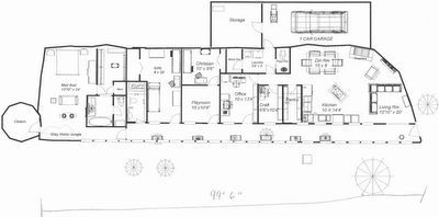 Earthship design Sterling & Cheri Allan's Sustainable Home